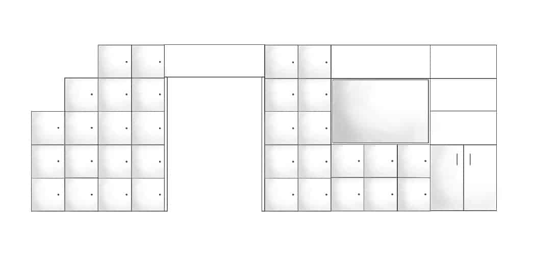 Locker-Wall-Partition-Shading