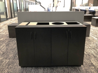 Recycle Station Furniture End Cap