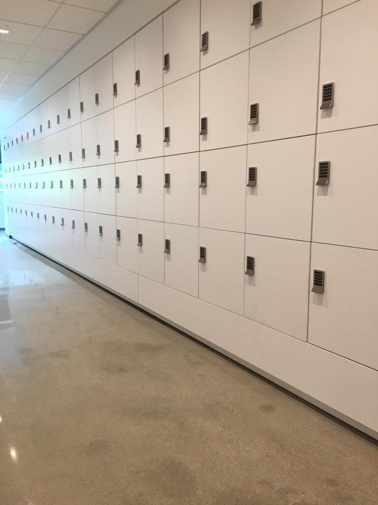 Flexible Use Corporate Lockers - Agile Workplace Lockers