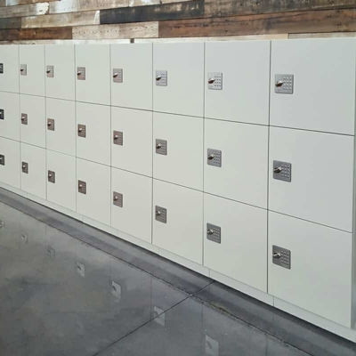 Laminate Lockers for Office Environments