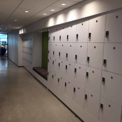 Agile Workplace Lockers - Laminate