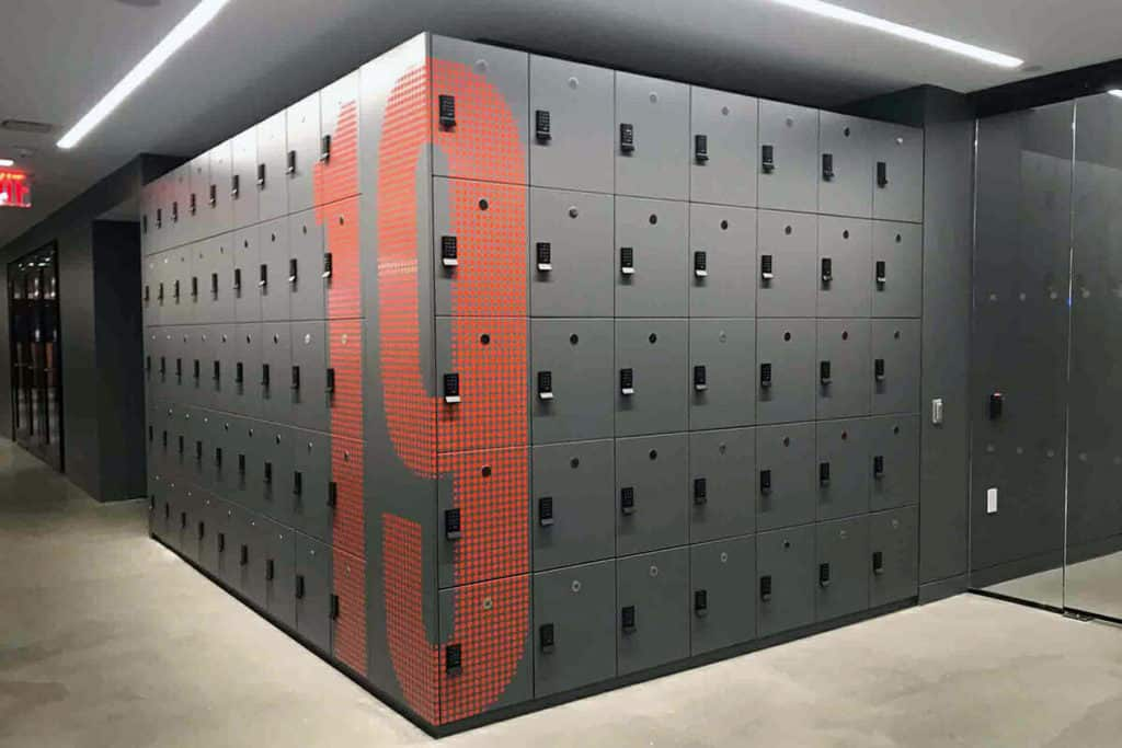 Laminate Lockers for Workplace