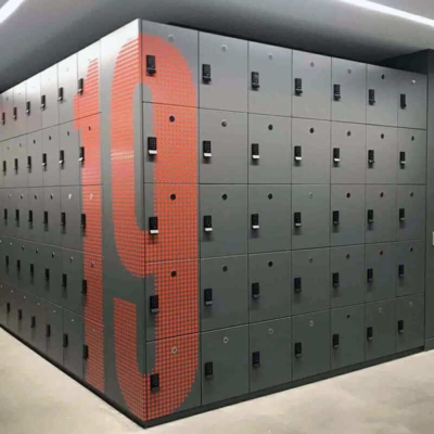 Agile Laminate Lockers for Unassigned Use