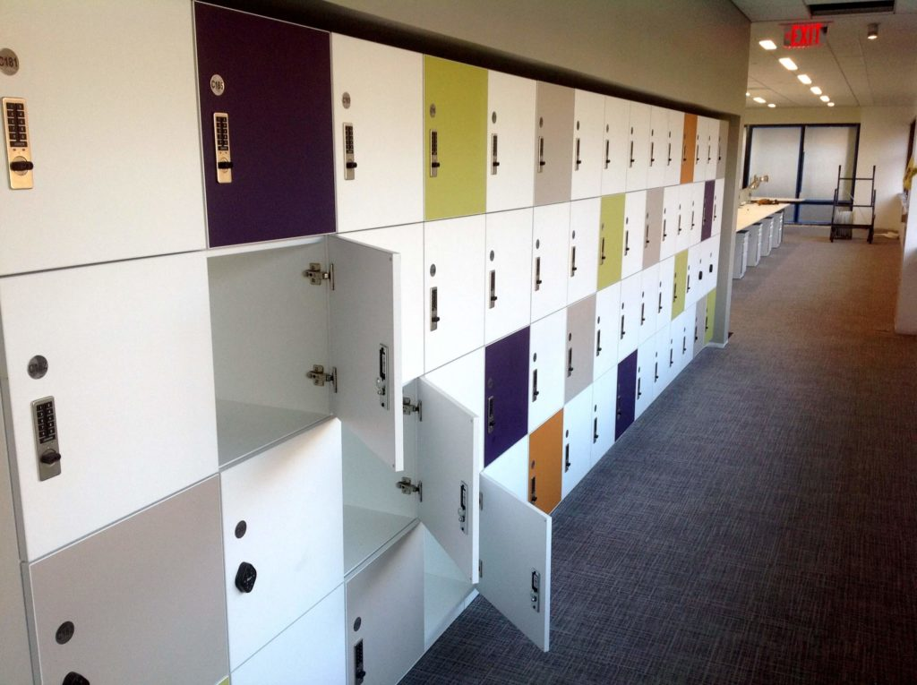 Flexible Use lockers for the Agile Office - Day Use Lockers