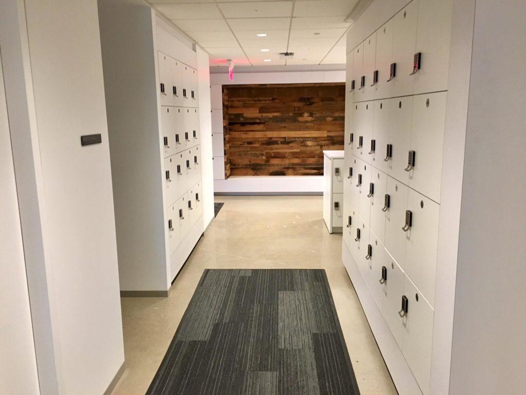 Hot Desking, Agile Lockers, Work Islands, Workplace