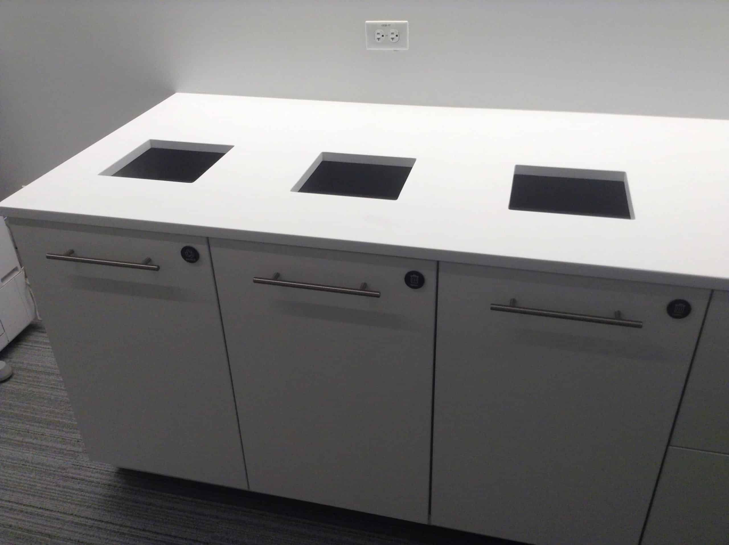 Hamilton Casework Recycling Stations