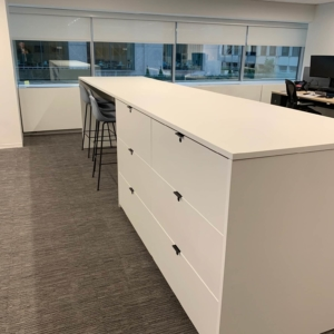 Laminate Work Bar Islands