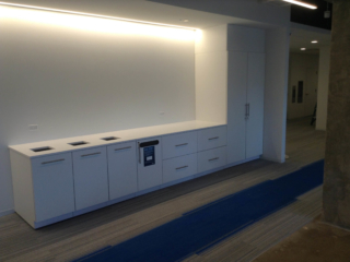 Laminate Workplace Storage and Recycle