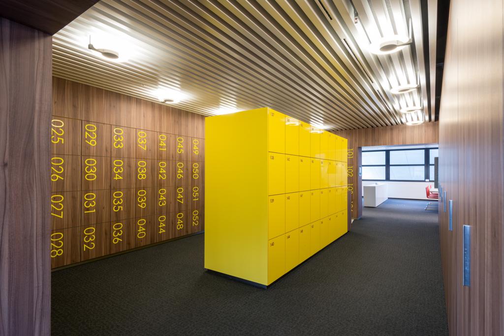 Smart Material Lockers