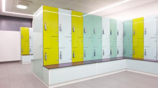 Glass Lockers