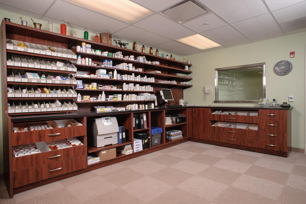 Pharmacy Furniture - Modular Casework