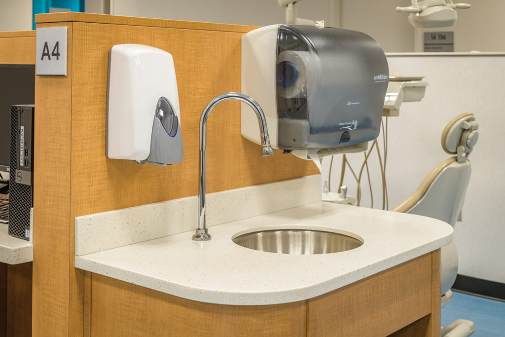 Exam Room Sink - Casework