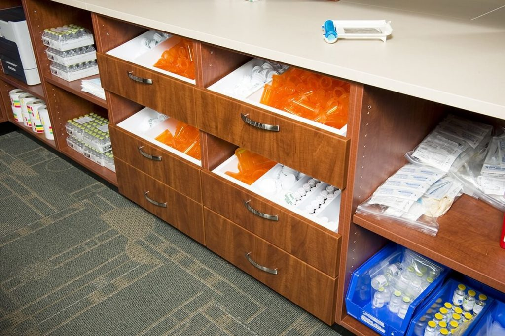 Pharmacy Drawers - Casework