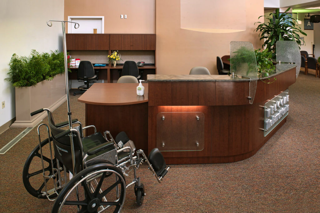 Reception Desk - Healthcare